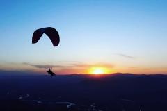 Sunset tandem